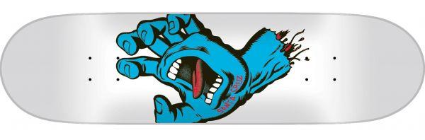 Santa Cruz Screaming Hand Taper Tip Skateboard Deck 8.375