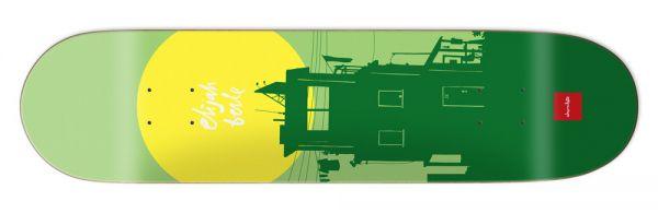 Chocolate Berle Sun Skateboard Deck 8.375