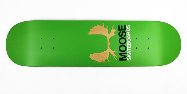 Moose Skateboard Deck Antlers Green