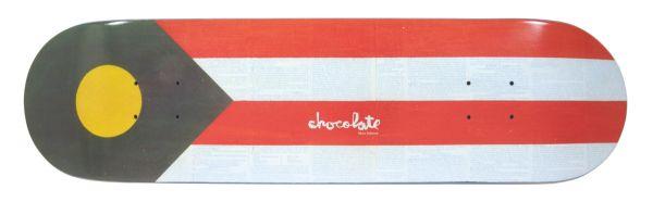 Chocolate M. Johnson Battle Flag Skateboard Deck 8.125
