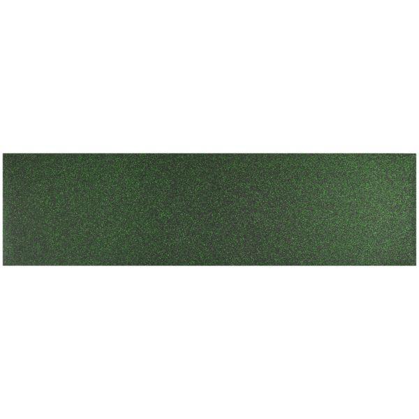 Black Diamond Skateboard Griptape Green Glitter