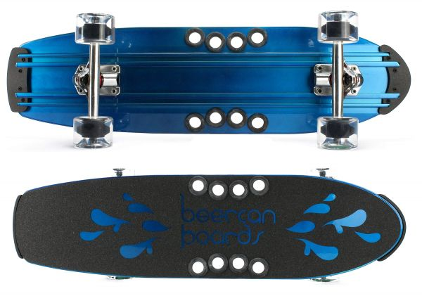 Beercan Brewster blue Komplett Cruiser 30 x 8
