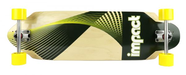 Impact Synthesis green Freeride Complete 36 x 9.75