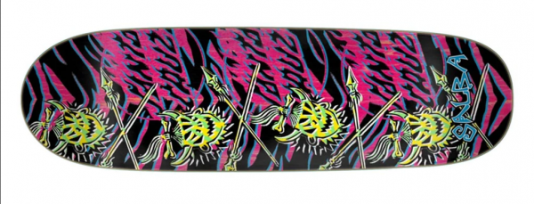 Santa Cruz Salba Stencil Skateboard Deck 9.25