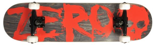 Zero Team Blood Blk Red Komplett Skateboard 7.75
