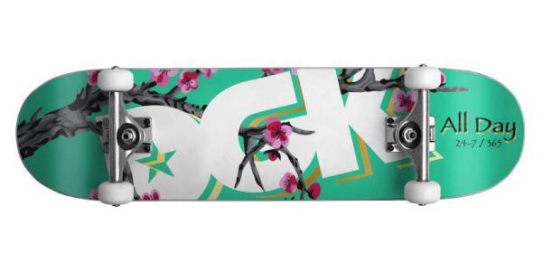DGK Blossom Komplettboard - 8.25