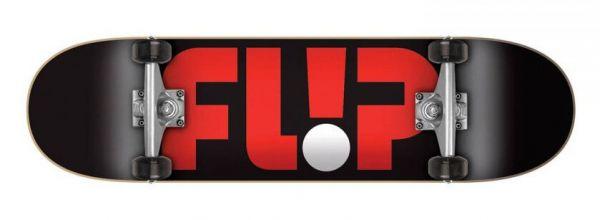 Flip Odyssey Logo Black Komplett Skateboard 7.5
