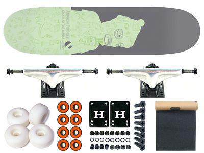 Delight Okazi Within Komplett Skateboard 7.63