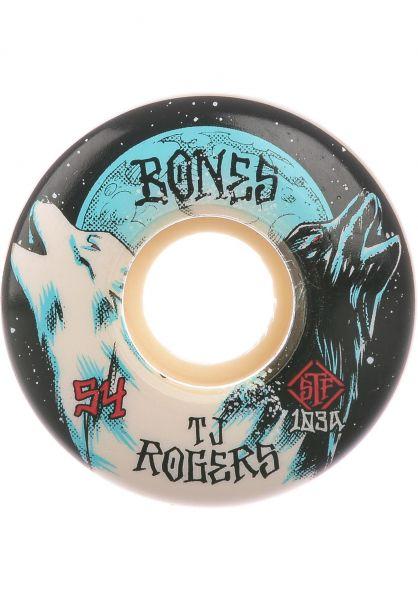 Bones Wheels Skateboard Rollen STF Rogers Howl 103A V3 54mm