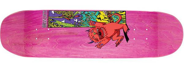 Welcome Brian Lotti Wild Thing Moontrimmer Skateboard Deck 8.5