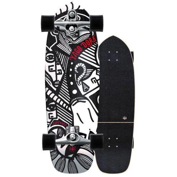 Carver SkateboardsYago Skinny Goat Surfskate C7 30.75