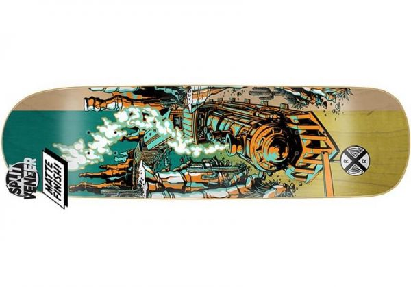 Santa-Cruz Winkowski Train Skateboard Deck 9.0