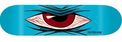 Toy Machine Mad Eye Skateboard Deck 7.75