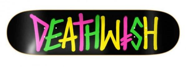 Deathwish Deathspray Multi OG Skateboard Deck 8.50