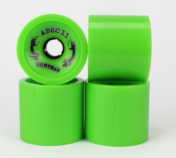 ABEC 11 Reflex Centrax Lime 80A 77mm