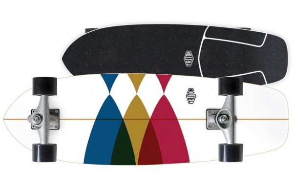 "Carver X Triton Surfskate Spectral CX 30"""