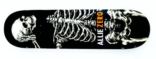 Zero Allie Headcase Skateboard Deck 8.50