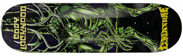 Creature Lockwood Swamp Lurker Skateboard Deck 8.37