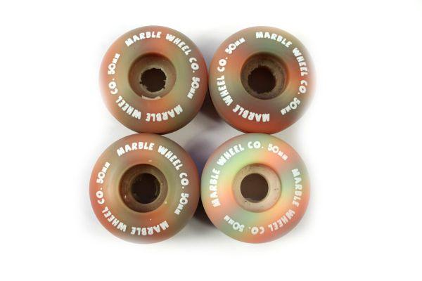 Marble Skateboard Rollen Rainbow 50mm