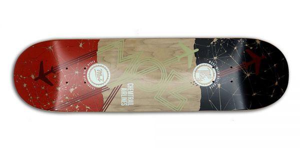 MOB Skateboards Airlines Deck - 8.5
