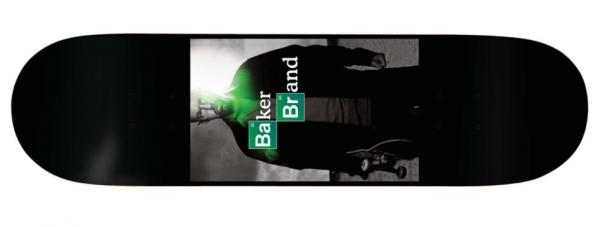 Baker Skateboard Deck ABQ AR 8.1