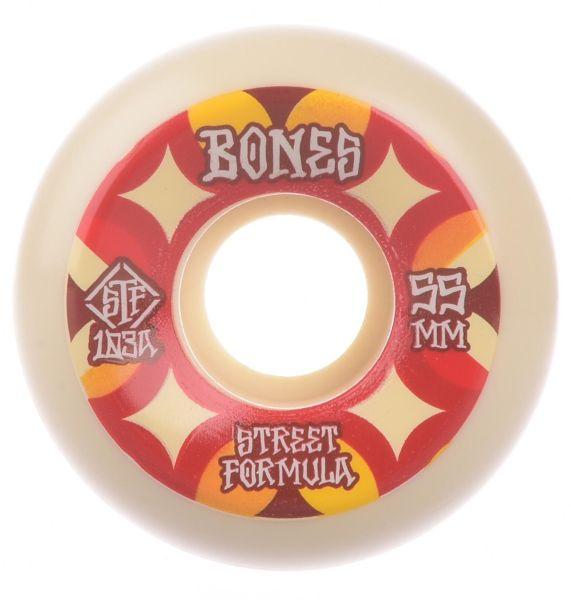 Bones Wheels Skateboard Rollen STF Retros 103A V5 54mm