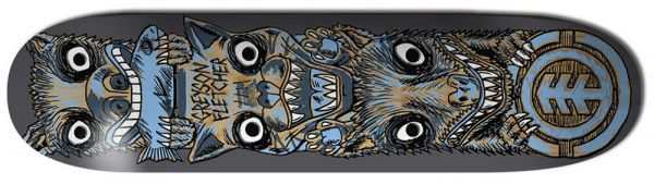 Element Fletcher FOS Totem Skateboard Deck 8.50