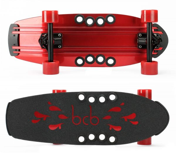 Beercan Microbrewster red Komplett Cruiser 24 x 8