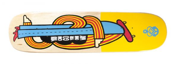 The Friend Ship Go Your Own Way Skateboard Deck 8.5