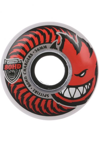 Spitfire Wheels Charger Classic Clear 80A 56mm