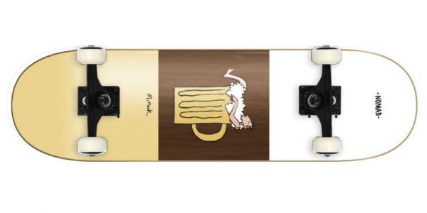 Nomad Skate Life Beer Bath Komplettboard - 8.125