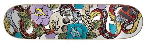 Plan B Skateboard Deck Sheckler Cranial 8.0