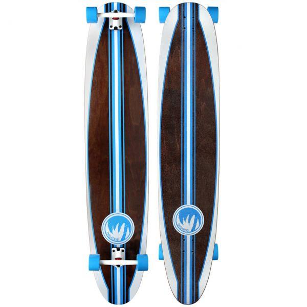 Paradise Complete Longboard Kicktail Casanova 55 x 11