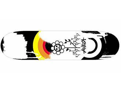 Angst Insomniaks La morte Skateboard Deck 8.0