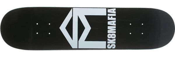 Sk8Mafia House Logo Black Skateboard Deck 8.0
