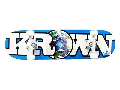 Krown Complete Skateboard Rookie world blue 7.5