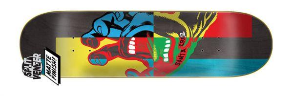 Santa Cruz Handblocker Skateboard Deck 8.5