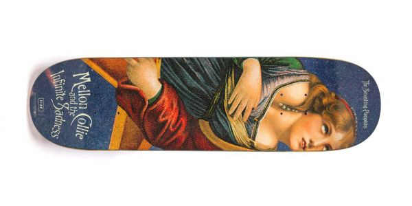 HUF Mellon Collie Skateboard Deck dark blue