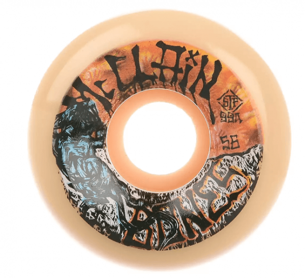 Bones Wheels Skateboard Rollen STF McClain Primal 99A V6 56mm