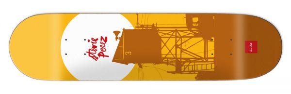 Chocolate Perez Sun Skateboard Deck 8.375