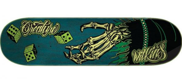 Creature Skateboard Deck Wilkins Creach Roller 8.8