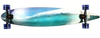 Paradise Complete Longboard Pintail Blue Wave 47.75 x 9.0