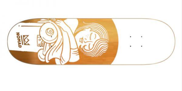 NOMAD Boobies orange Deck - 8.13