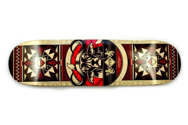 FUA Buffalo red Skateboard Deck