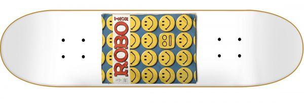 Robotron SMILE Skateboard Deck 8.5