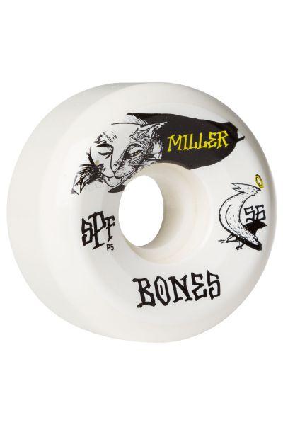 Bones Skateboard Wheels SPF Miller Guilty Cat 84B P5 56mm