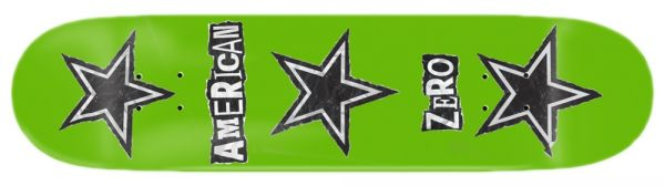 Zero Team Ransom Note R7 Skateboard Deck 8.125