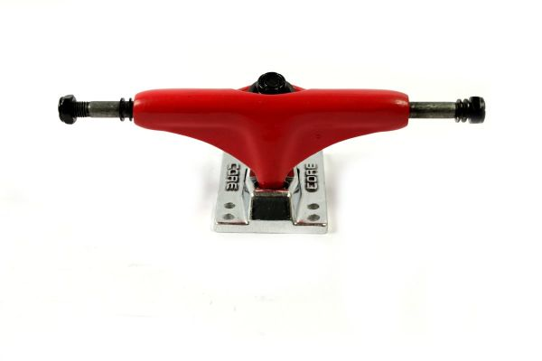Core Trucks Skateboard Achse rot/silber 5.0
