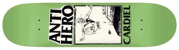 Anti Hero Cardiel Lance Guest Art Skateboard Deck 8.12