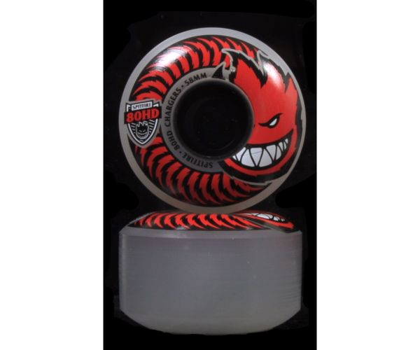 Spitfire Wheels Charger Classic Clear 80A 58mm
